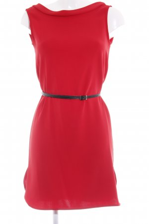 Mango A-Linien Kleid rot Business-Look