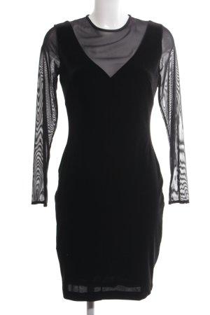 Mango Abendkleid schwarz Elegant