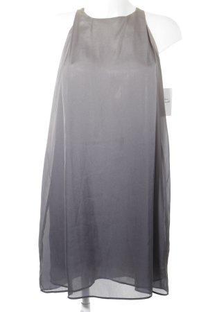 Mango Abendkleid hellgrau-grau Farbverlauf Elegant