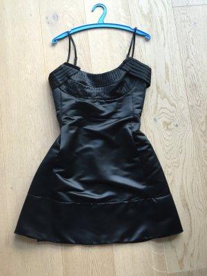 Mango Abendkleid schwarz 38