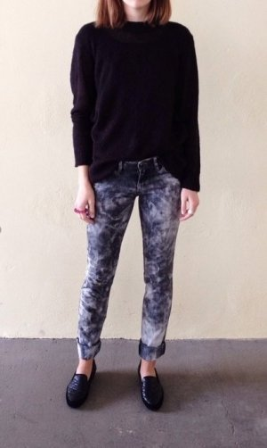 Mango Acid-Washed Jeans