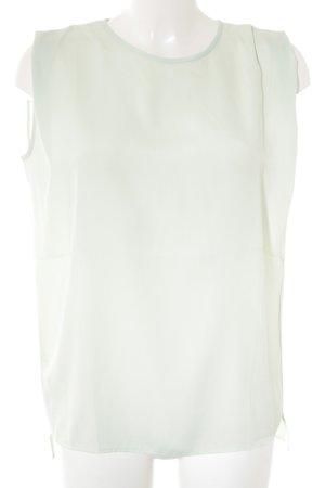 Mango ärmellose Bluse mint Casual-Look