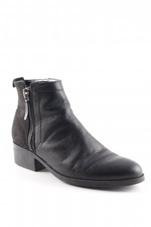 Mango Ankle Boots schwarz Casual-Look