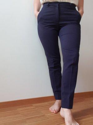Mango Suit Trouser dark blue