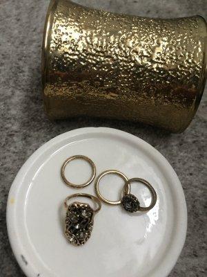 Mango Armband und 4 mini ringe