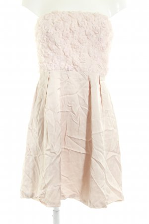 Mango Bandeau Dress pink elegant