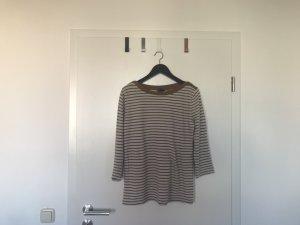 Mango Basic Shirt Langarm mit Streifen