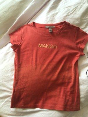 Mango Top batik rouge clair