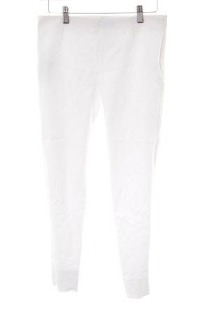 Mango Basics 7/8 Jeans weiß klassischer Stil