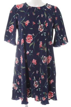 Mango Basics A-Linien Kleid Blumenmuster Elegant