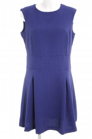 Mango Basics A-Linien Kleid neonblau Business-Look
