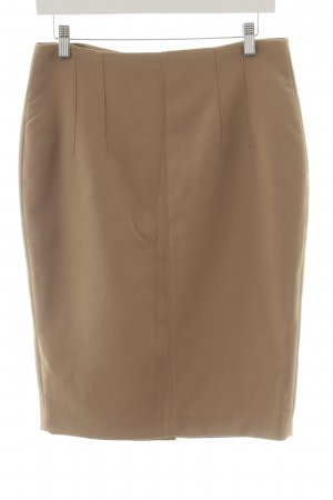 Mango Basics Bleistiftrock beige Business-Look