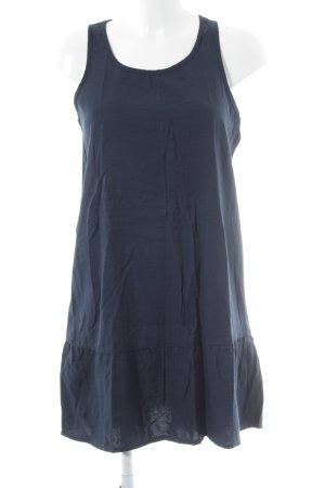 Mango Basics Blusenkleid dunkelblau Casual-Look