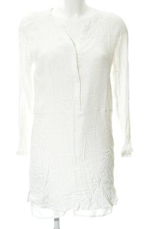 Mango Basics Blusenkleid weiß Beach-Look