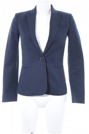 Mango Basics Boyfriend-Blazer dunkelblau Business-Look