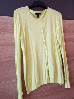 Mango Basics Cardigan Limette Gr. M