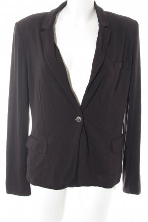 Mango Basics Cardigan schwarz Business-Look
