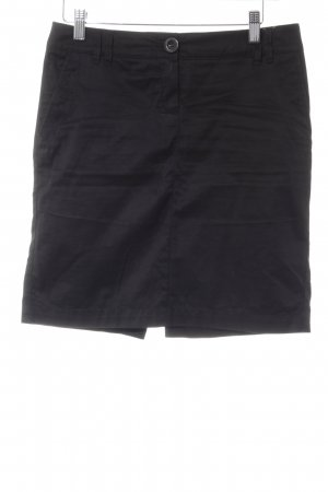 Mango Basics High Waist Rock schwarz Business-Look