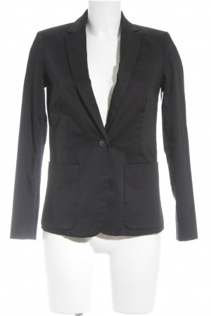 Mango Basics Jerseyblazer schwarz Business-Look