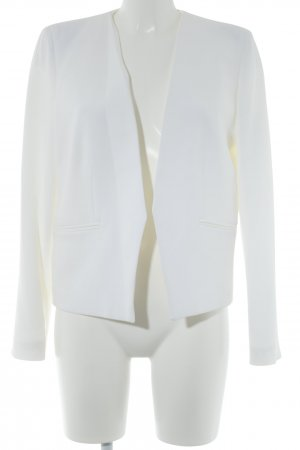 Mango Basics Jerseyblazer wollweiß Business-Look