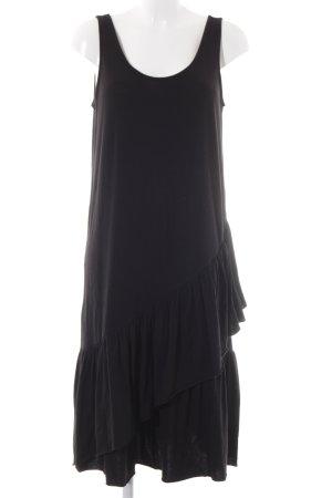 Mango Basics Jerseykleid schwarz Casual-Look