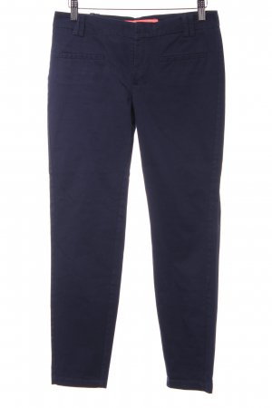 Mango Basics Karottenhose dunkelblau Business-Look