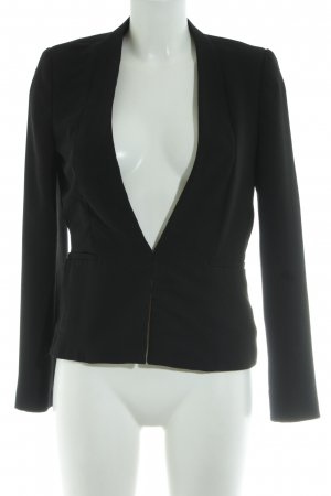 Mango Basics Kurz-Blazer schwarz Elegant