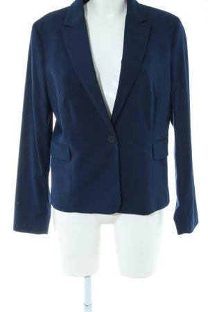 Mango Basics Kurz-Blazer blau Business-Look