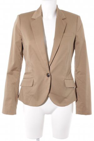Mango Basics Kurz-Blazer beige Business-Look