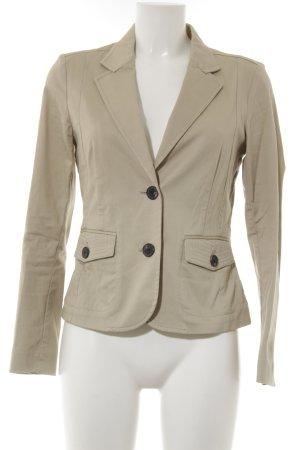 Mango Basics Kurz-Blazer beige-hellbeige Business-Look