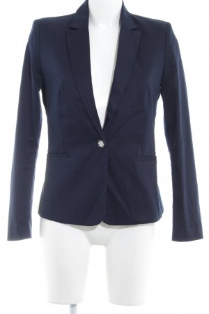 Mango Basics Kurz-Blazer dunkelblau Business-Look