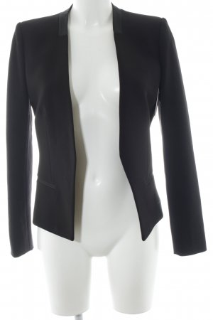Mango Basics Short Blazer black business style