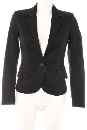 Mango Basics Kurz-Blazer schwarz Business-Look