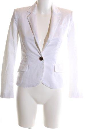 Mango Basics Kurz-Blazer weiß Elegant