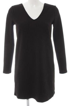 Mango Basics Langarmkleid schwarz minimalistischer Stil