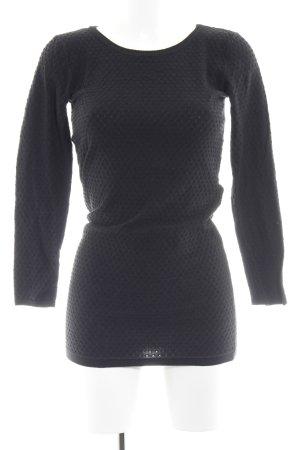 Mango Basics Langarmkleid schwarz schlichter Stil