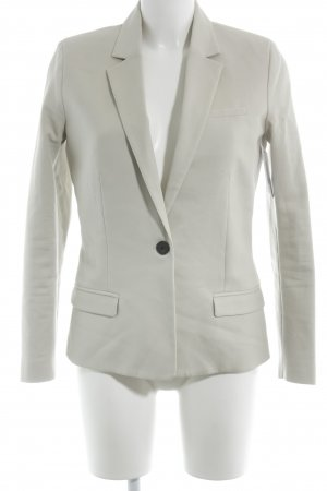 Mango Basics Long-Blazer hellbeige Business-Look