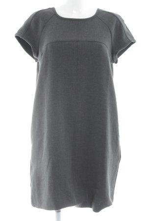 Mango Basics Minikleid grau schlichter Stil