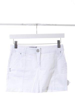 Mango Basics Minirock weiß sportlicher Stil