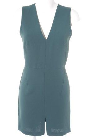 Mango Basics schulterfreies Kleid waldgrün Elegant
