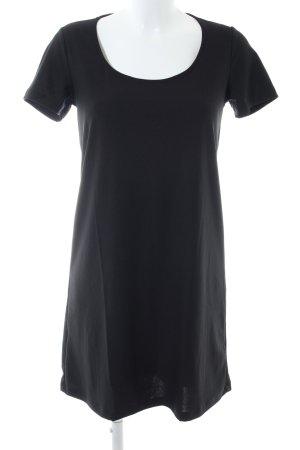 Mango Basics Shirtkleid schwarz Casual-Look