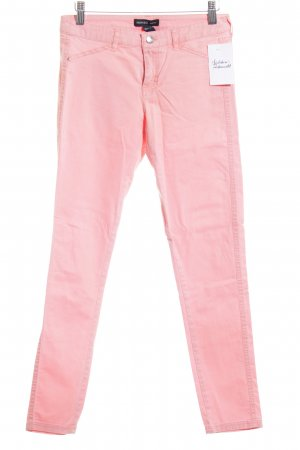 Mango Basics Skinny Jeans lachs-apricot Casual-Look