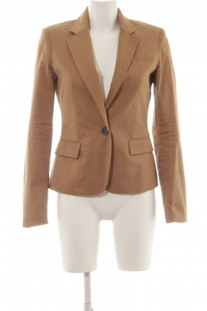 Mango Basics Tuxedo Blazer light brown casual look