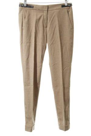 Mango Basics Pantalon strech beige style d'affaires