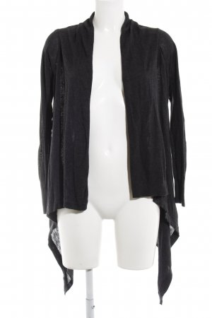 Mango Basics Strick Cardigan dunkelgrau Casual-Look