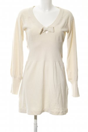 Mango Basics Strickkleid creme Casual-Look