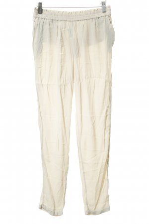 Mango Basics Sweat Pants cream casual look