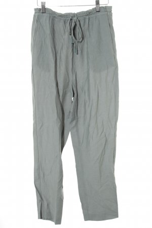 Mango Basics Sweat Pants sage green casual look