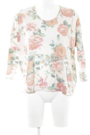 Mango Basics Sweatshirt florales Muster Casual-Look