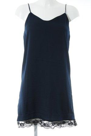 Mango Basics Trägerkleid dunkelblau Casual-Look